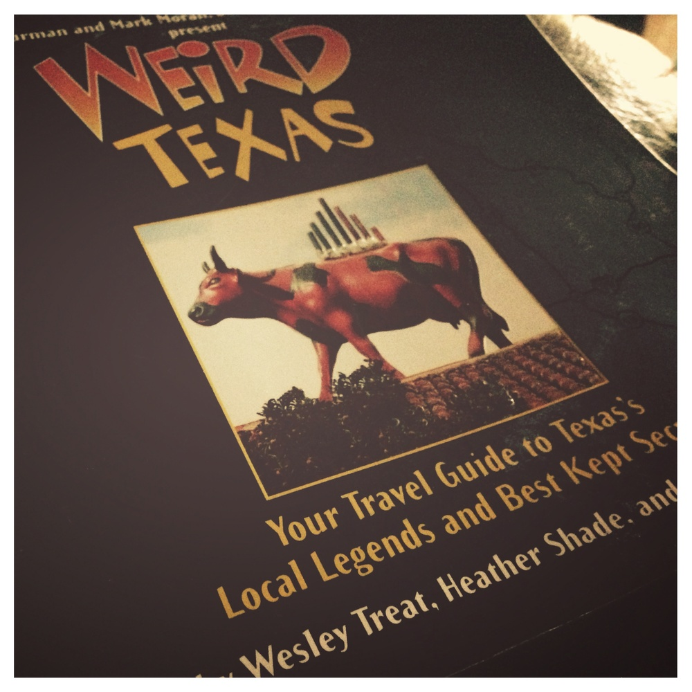 Weird Texas is a fun and informative book about Texas' bizarre destinations and folklore