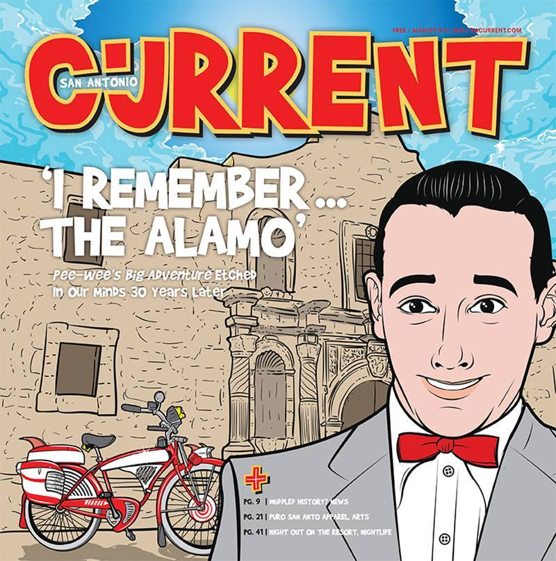 Tattooed Boy's cover art for the San Antonio Current, 2015