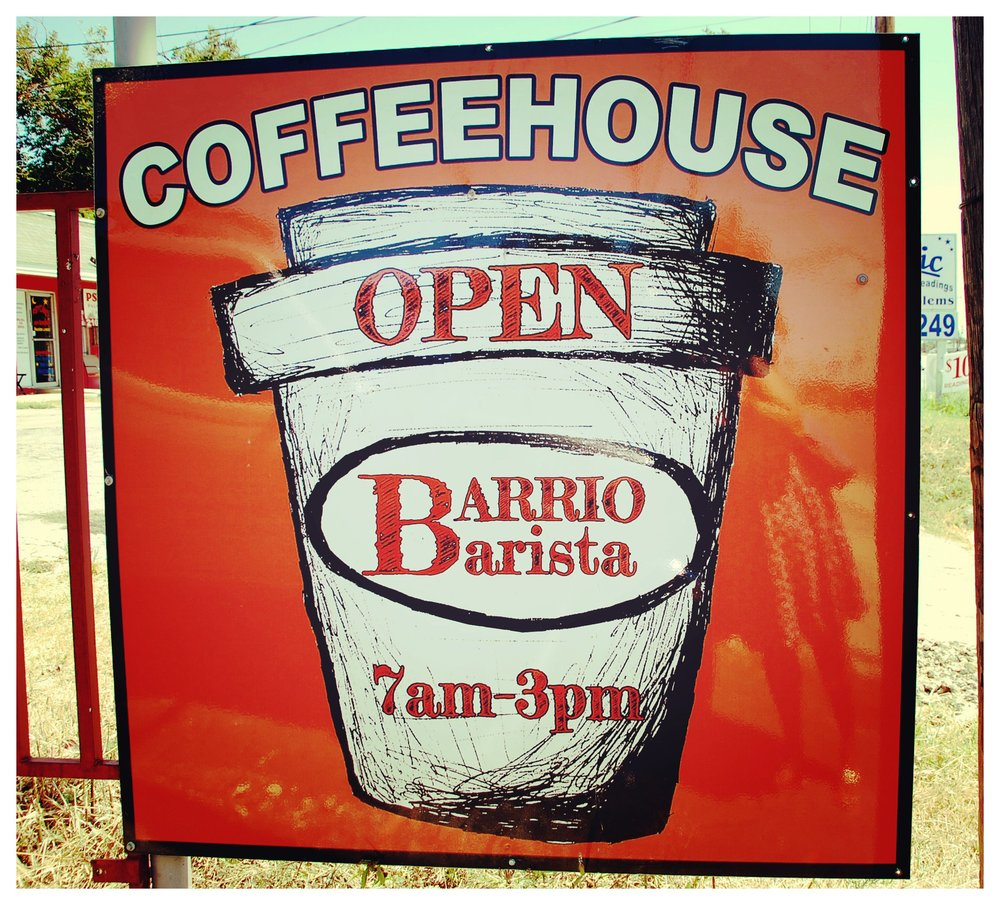 Get your caffeine fix at Barrio Barista from 7 am  –  3 pm.
