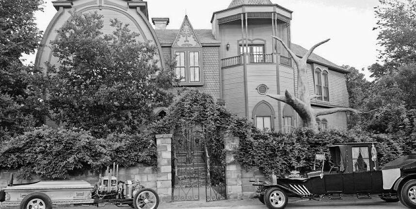The Munster Mansion, photo taken from   Facebook