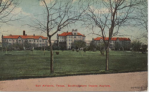 Southwestern Insane Asylum Post Card