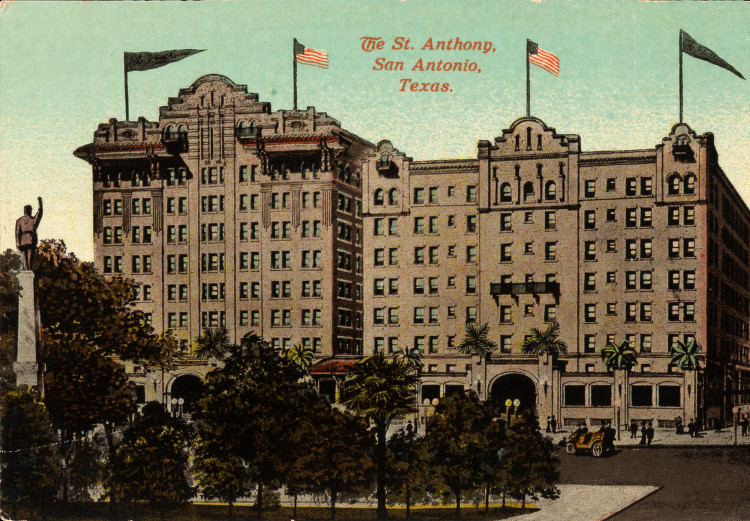 The St. Anthony Hotel Post Card
