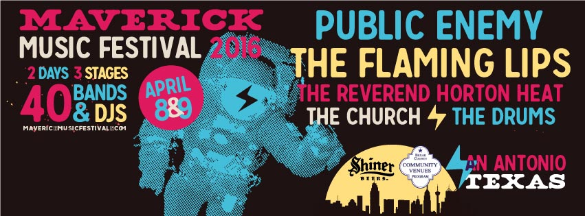 Flier for Maverick Music Festival 2016 (Photo courtesy:   Facebook/MaverickMusicFest  )