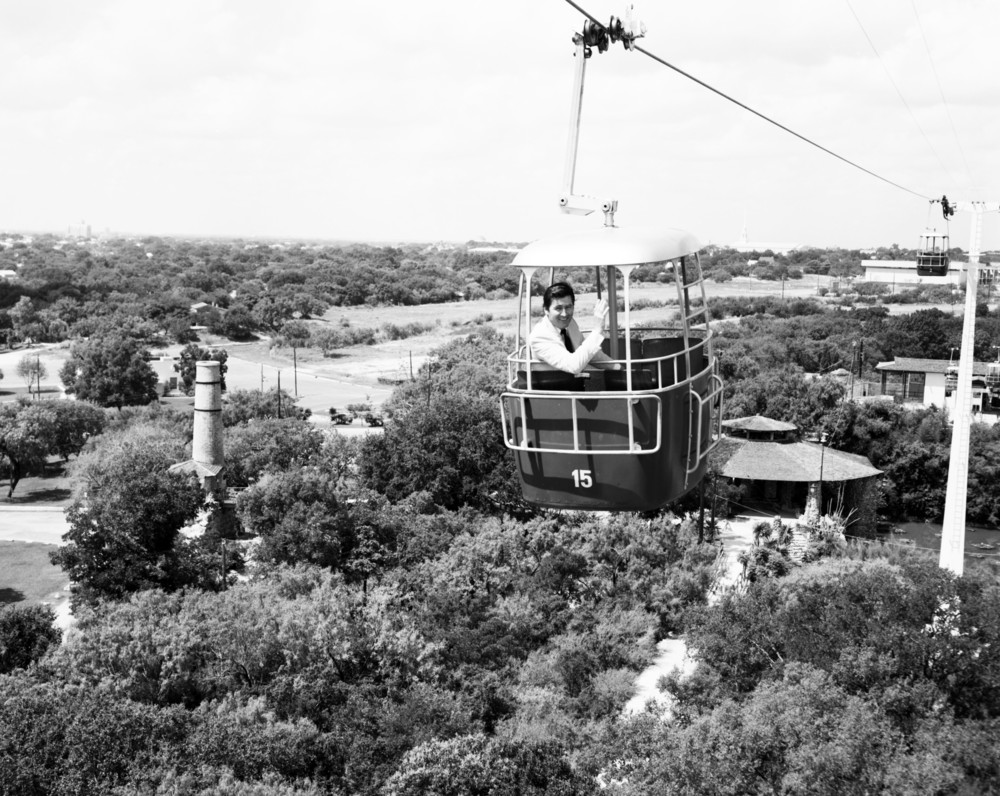 Brackenridge Park Sky Ride (Photo:   www.utsalibrariestopshelf.wordpress.com  )