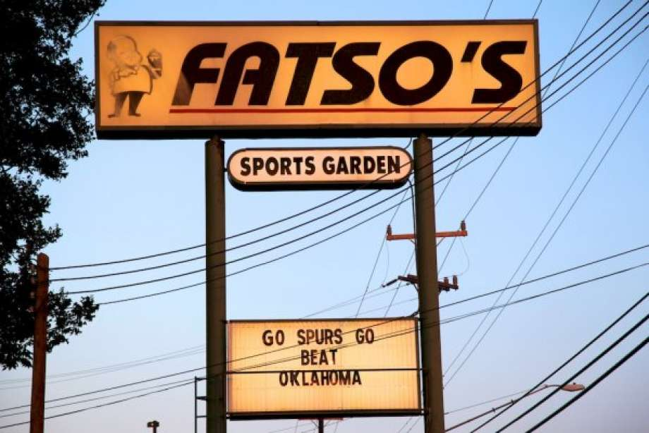 Fatso's Sports Garden (Photo:   www.mysanantonio.com  )