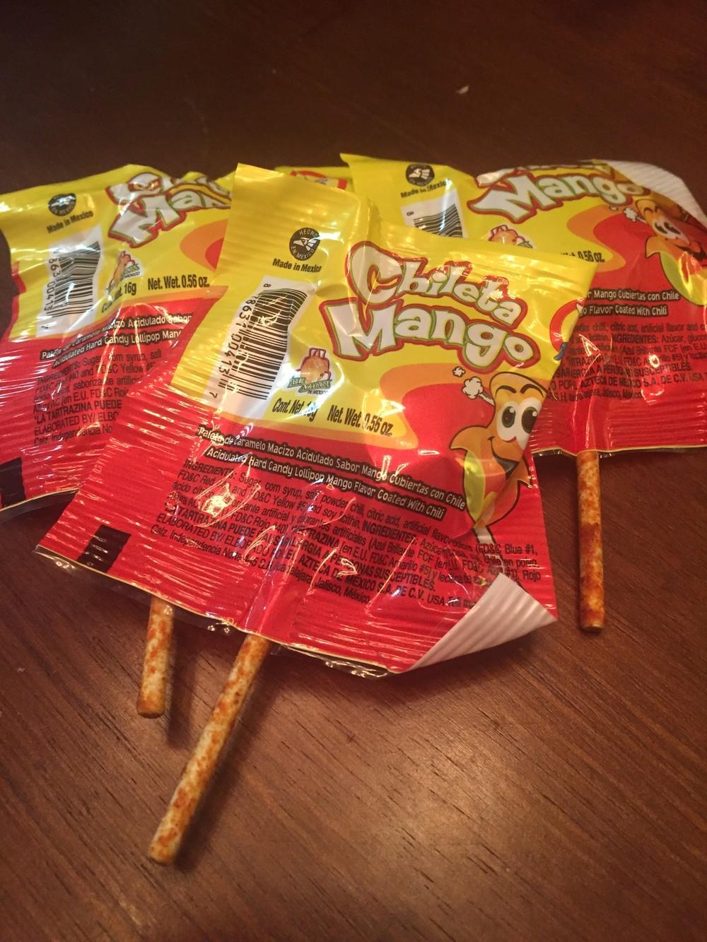 Chileta Mango lollipop