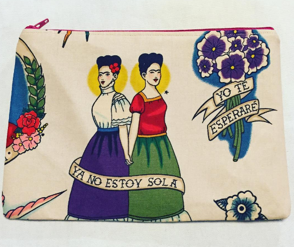 Frida makeup bag (Photo: Instagram/Hermanitas_Boutique)