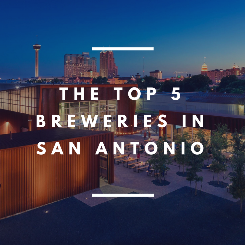 The top 5 breweries in san antonio barbacoapparel for Craft beer store san antonio