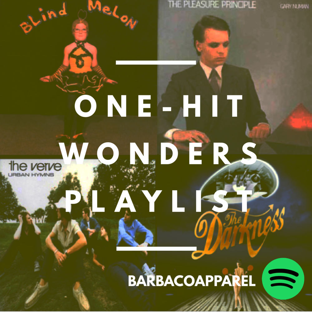 One-HIt Wonder Spotify Playlist