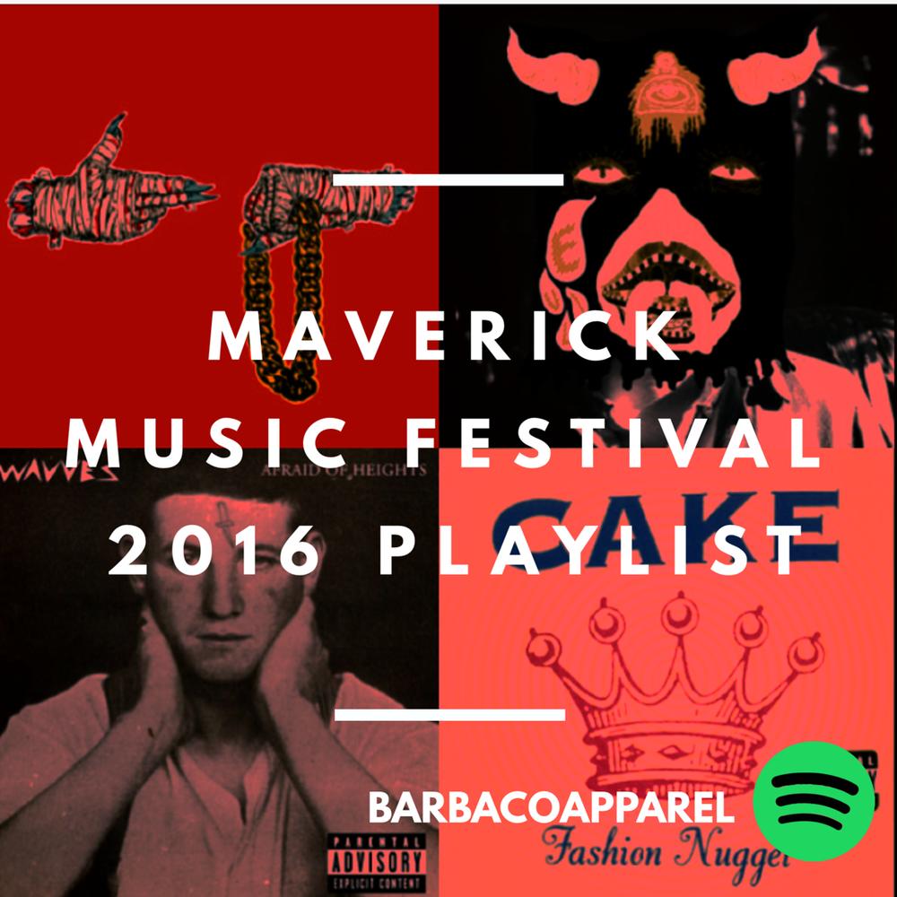 Maverick Music Festival 2016 Playlist