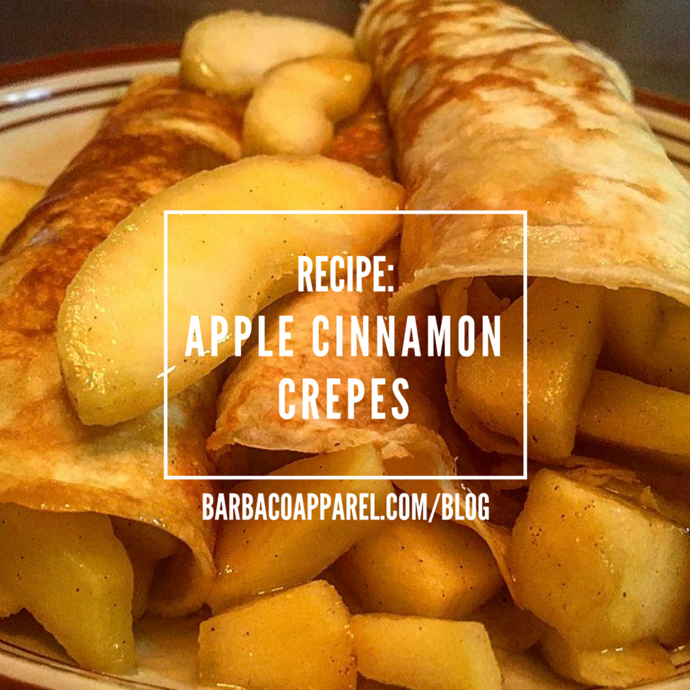 Recipe: Apple Cinnamon Crepes