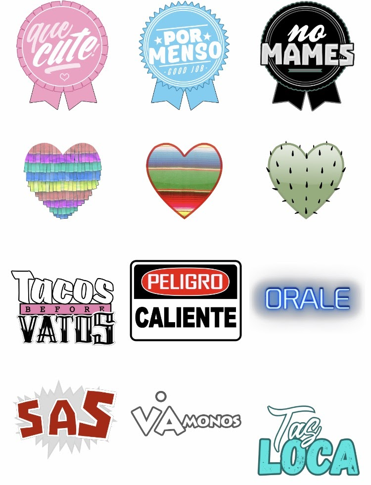 Tortilla Factory Sticker Pack