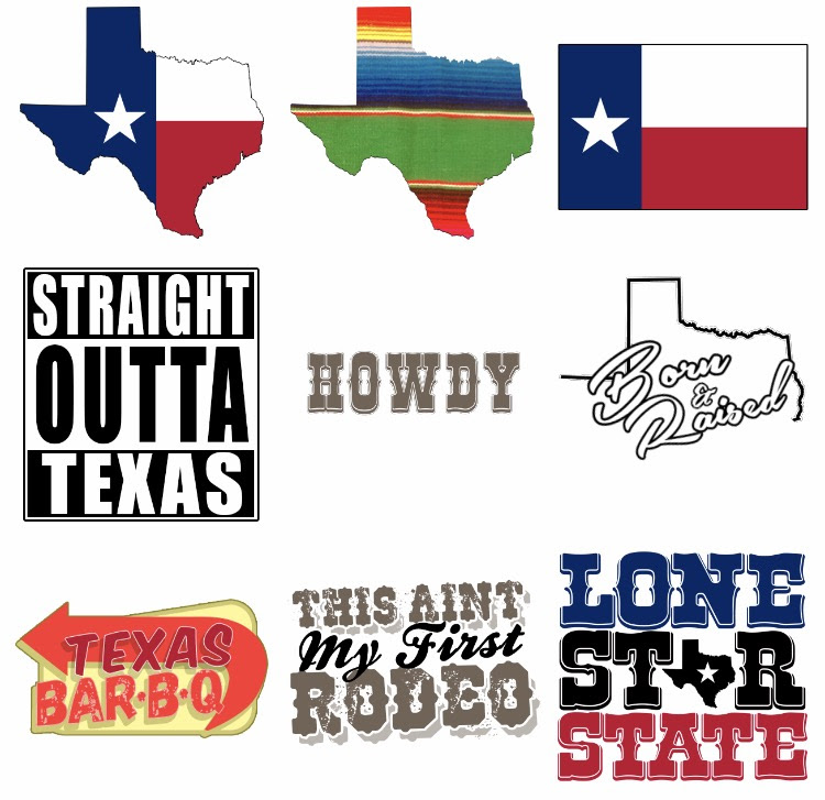 The Lone Star State Sticker Pack lets you proclaim your love for Texas.