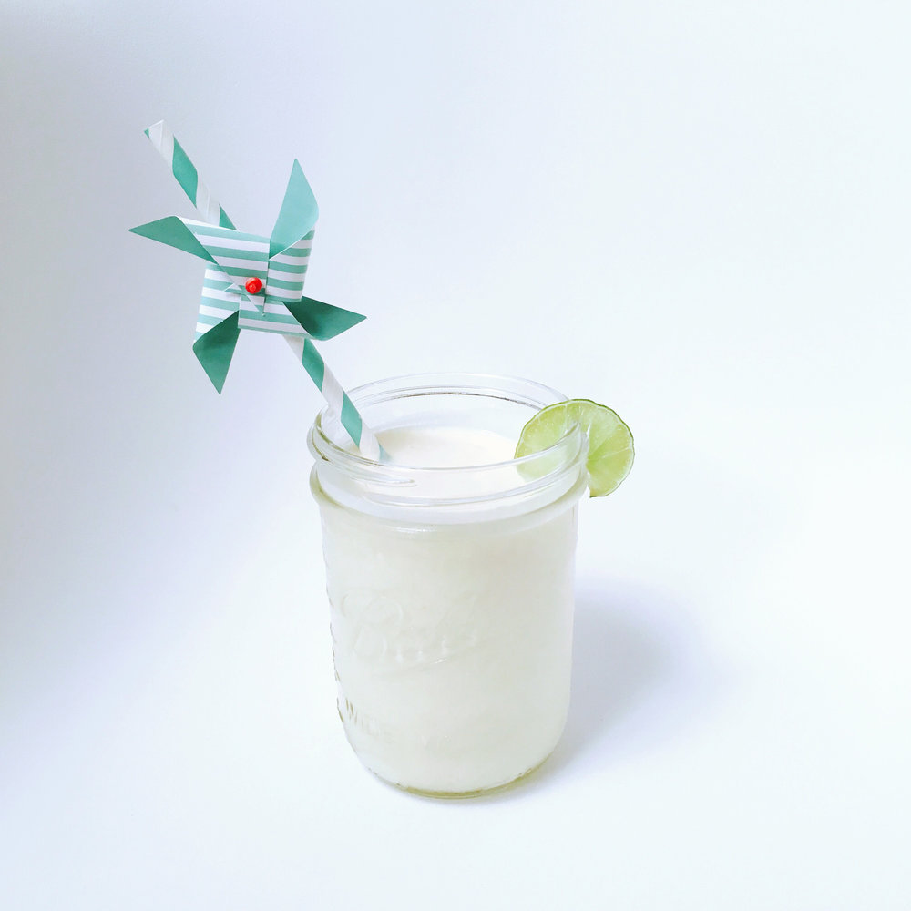 Tequila Key Lime Milk Shake