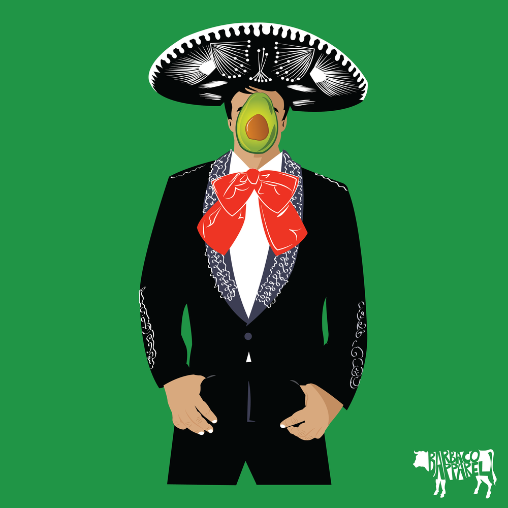 Guacacharro T-Shirt Design