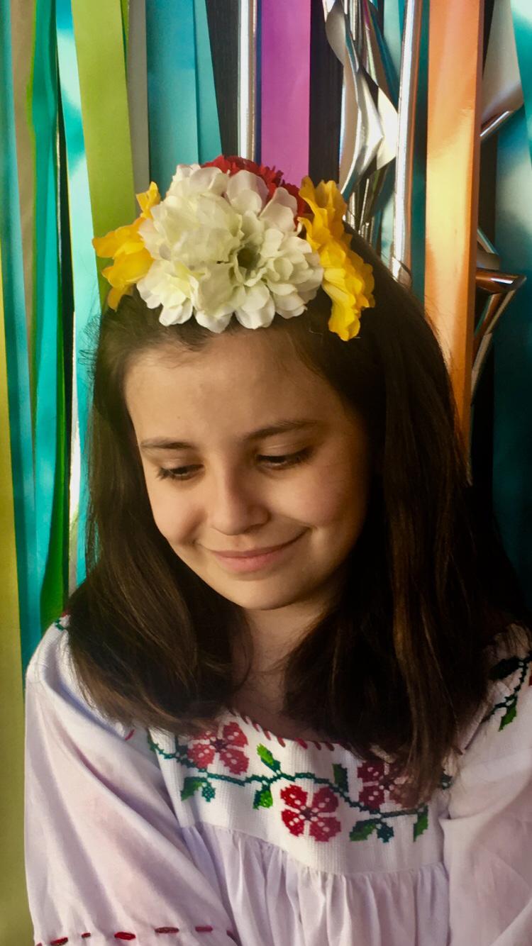 Diy flower crowns for fiesta barbacoapparel texas san antonio diy flower crowns for fiesta barbacoapparel texas san antonio inspired t shirts onesies totes postersblog izmirmasajfo
