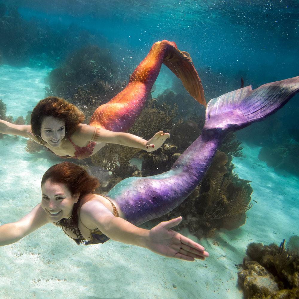A real photo of a mermaid MERMAID PROGRAMS Wave Waterpark