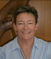 Rodney Colllege Principal, Irene Symes.