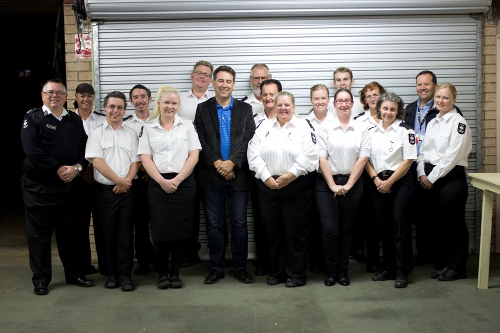 St John Ambulance, Redland Division with Mark Robinson