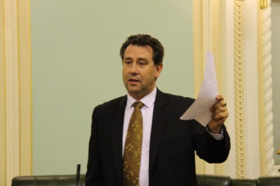 DR MARK ROBINSON MP IN THE QUEENSLAND PARLIAMENT