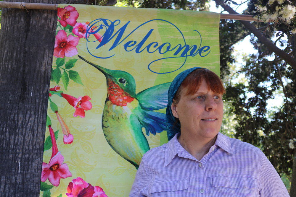 Welcome to the Hummingbird Healing Garden in Bonsall, California!