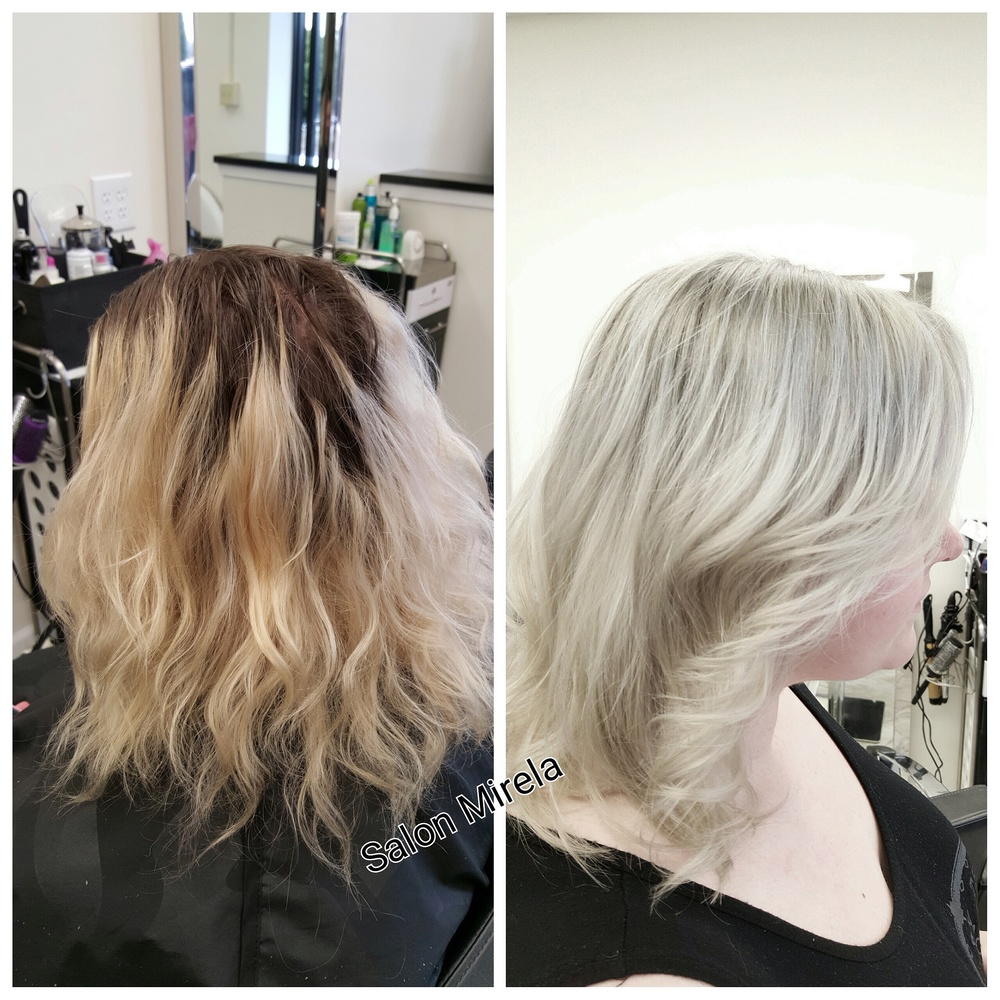 Before and after !