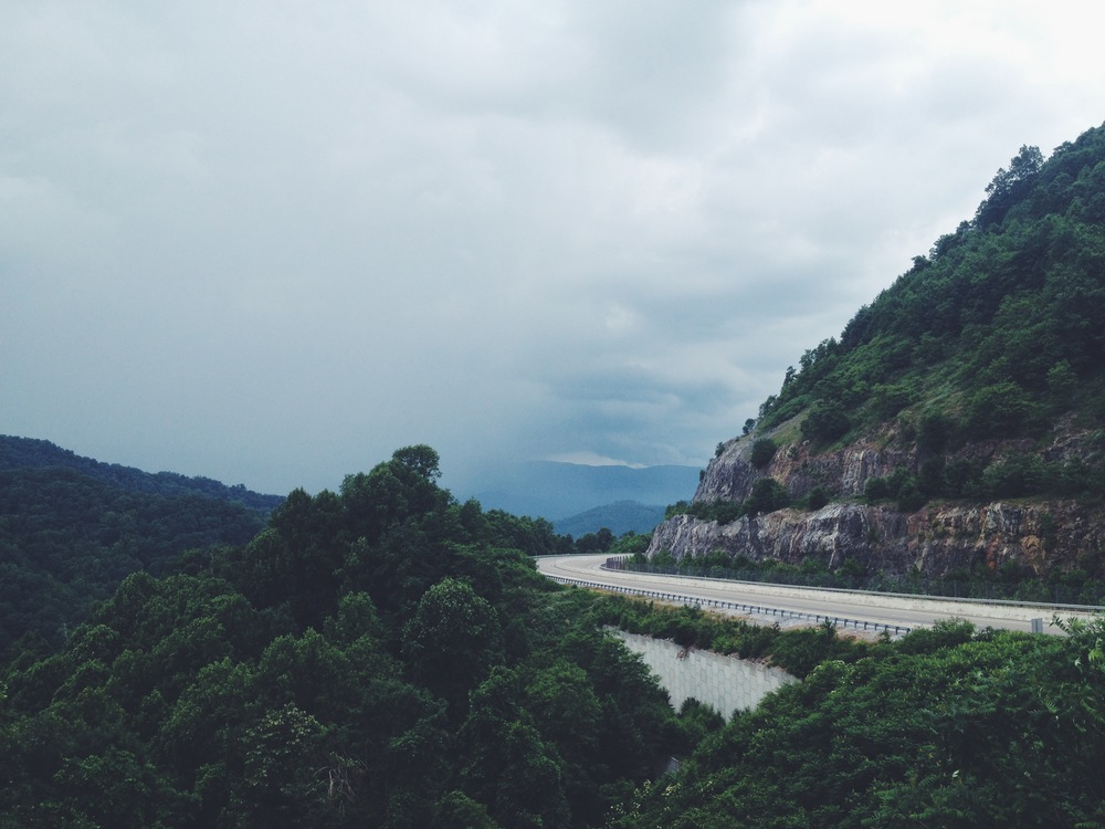 Buckner Gap, Highway 26, Tennessee.
