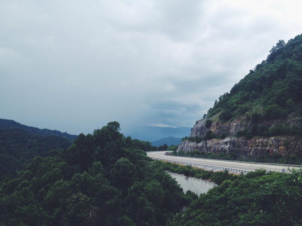 Buckner's Gap, I26, Headed to Asheville, NC