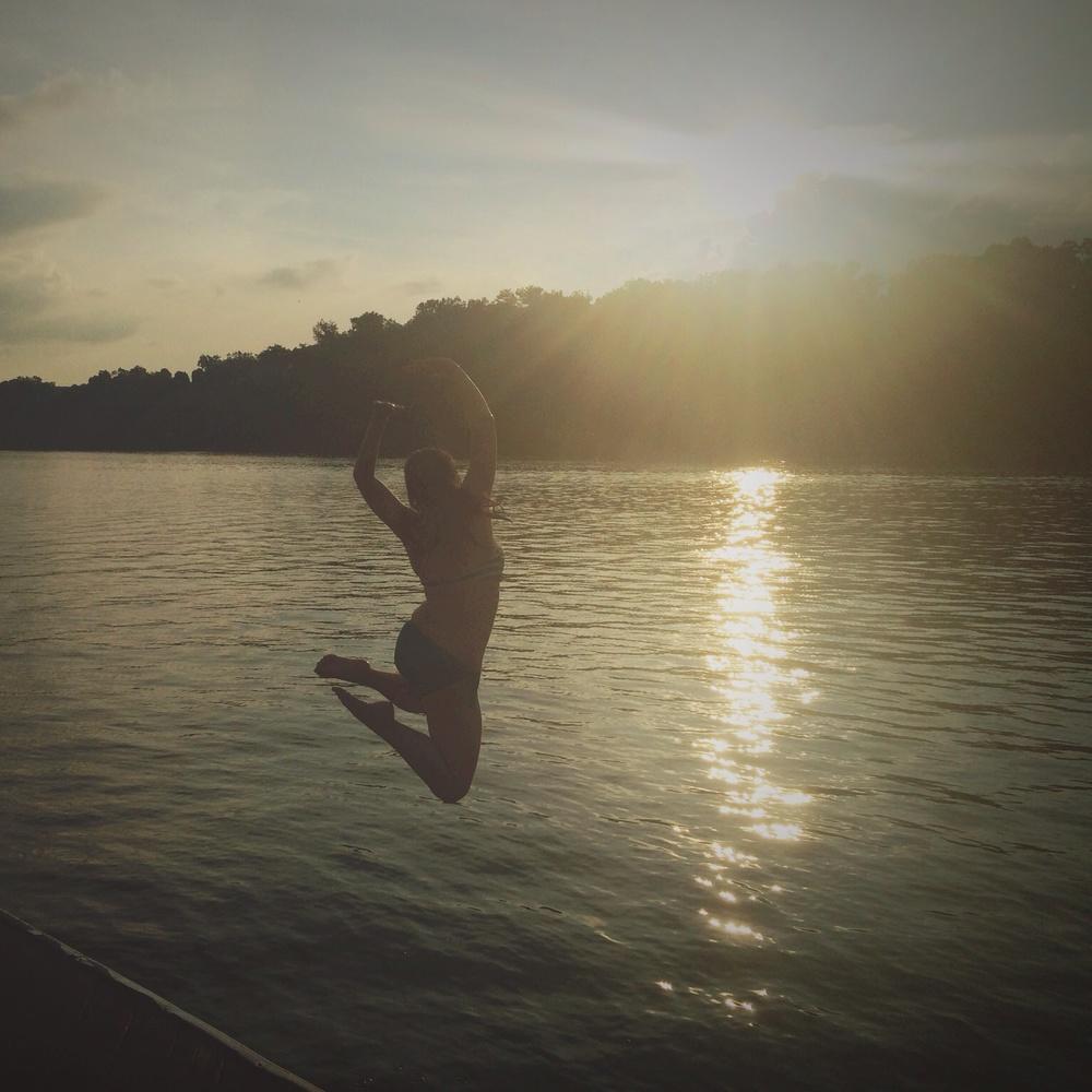 Self, Boone Lake, Piney Flats, TN