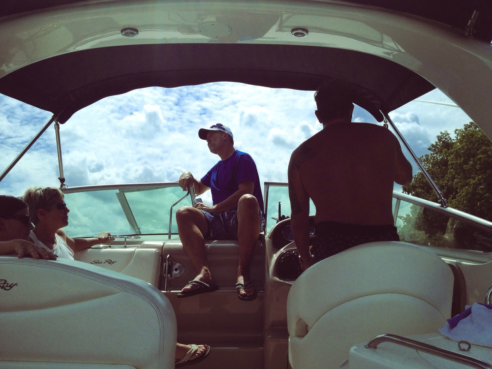 Cruising, Boone Lake, Piney Flats, TN