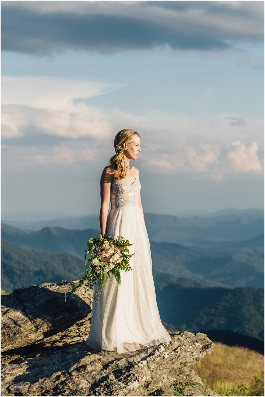 Roan Mountain, TN: Josh & Holly\'s Intimate Mountain Wedding — Katy ...