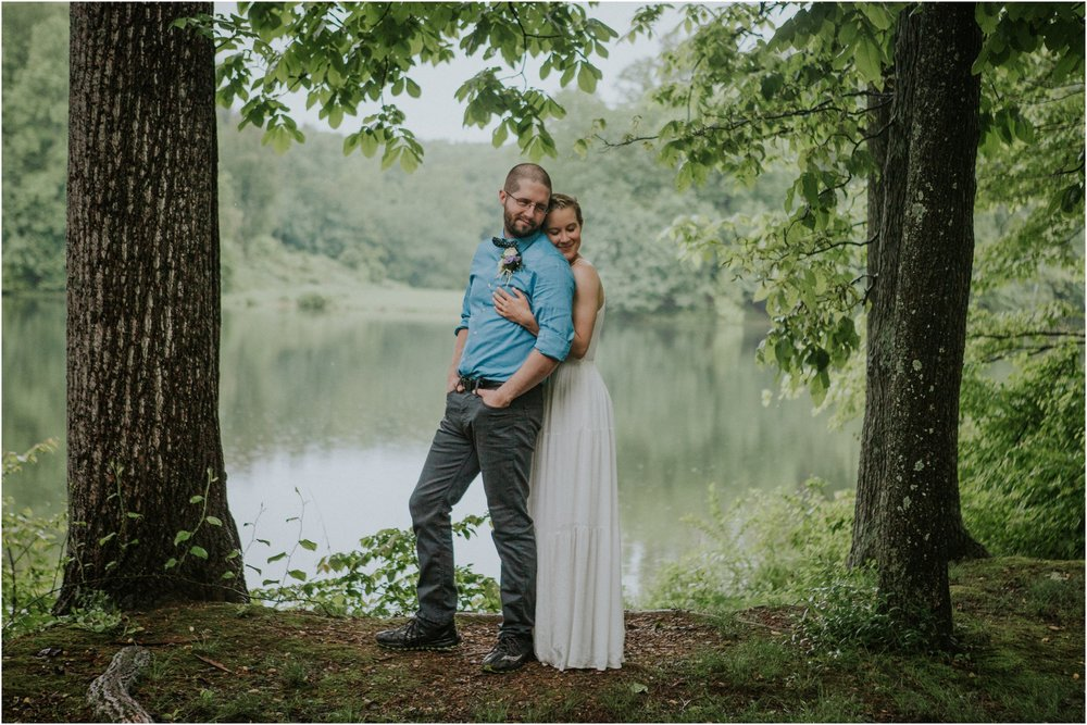 seneca-creek-state-park-maryland-intimate-woodland-wedding-forest-rock-climbing-adventurous-couple_0087.jpg