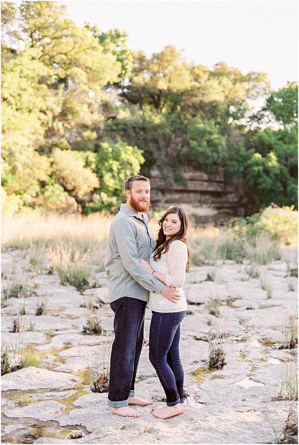 Brooke + Nick | Fine Art Creek Side Engagement | Film | Emilie Anne Photography-2.jpg