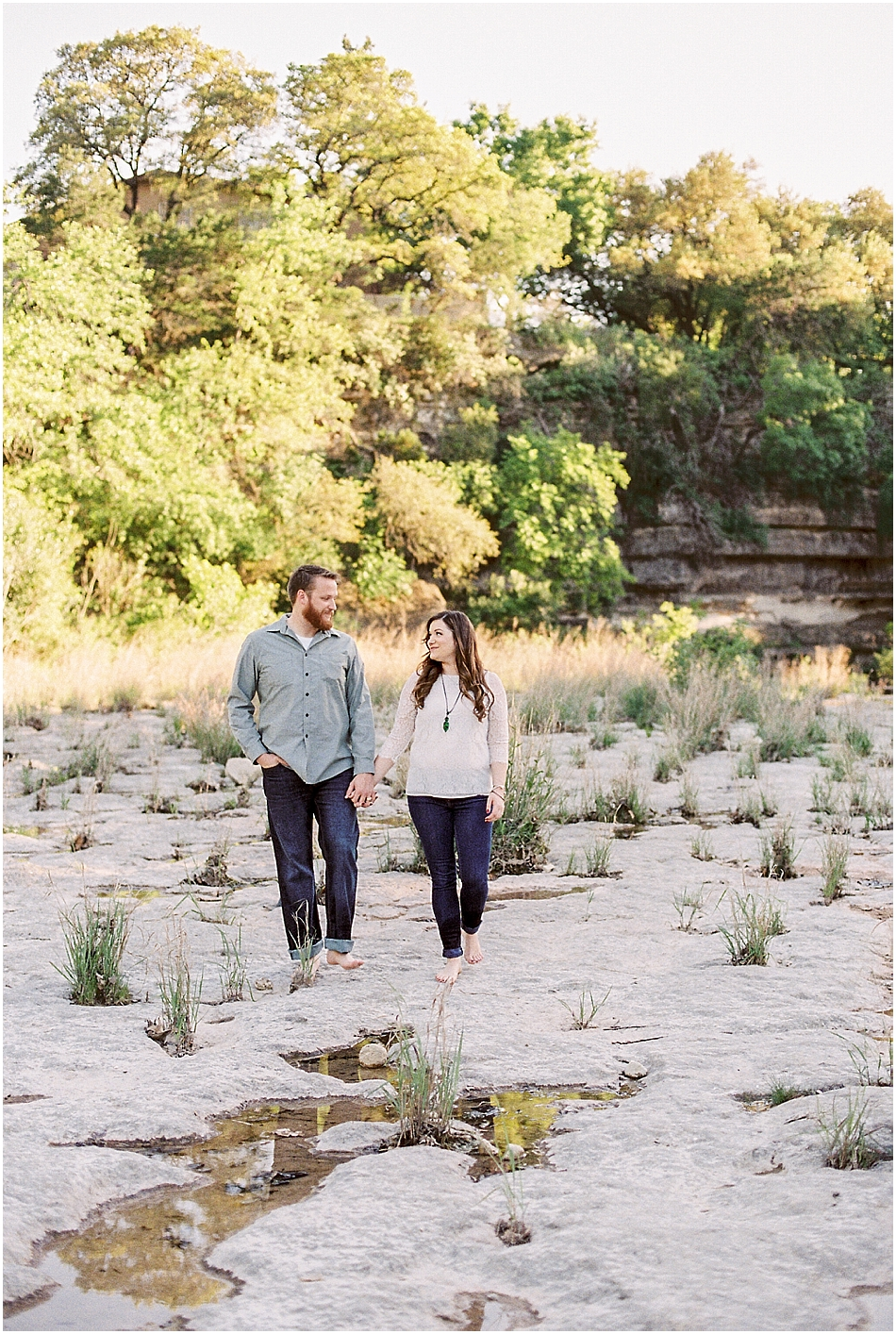 Brooke + Nick | Fine Art Creek Side Engagement | Film | Emilie Anne Photography-4.jpg
