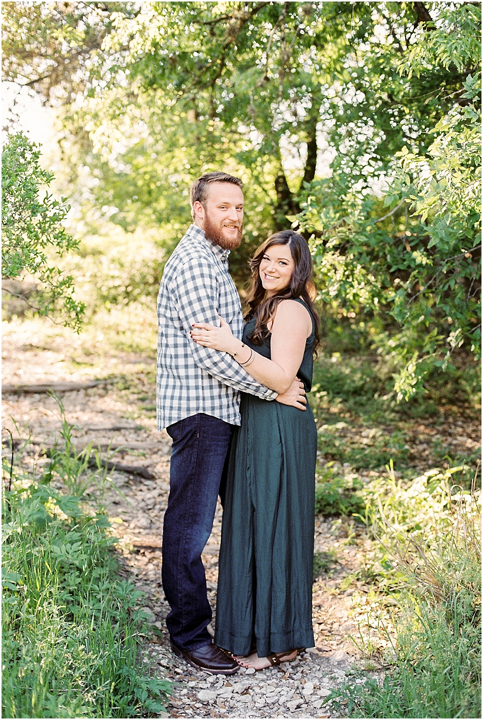 Brooke + Nick | Fine Art Creek Side Engagement | Film | Emilie Anne Photography-11.jpg