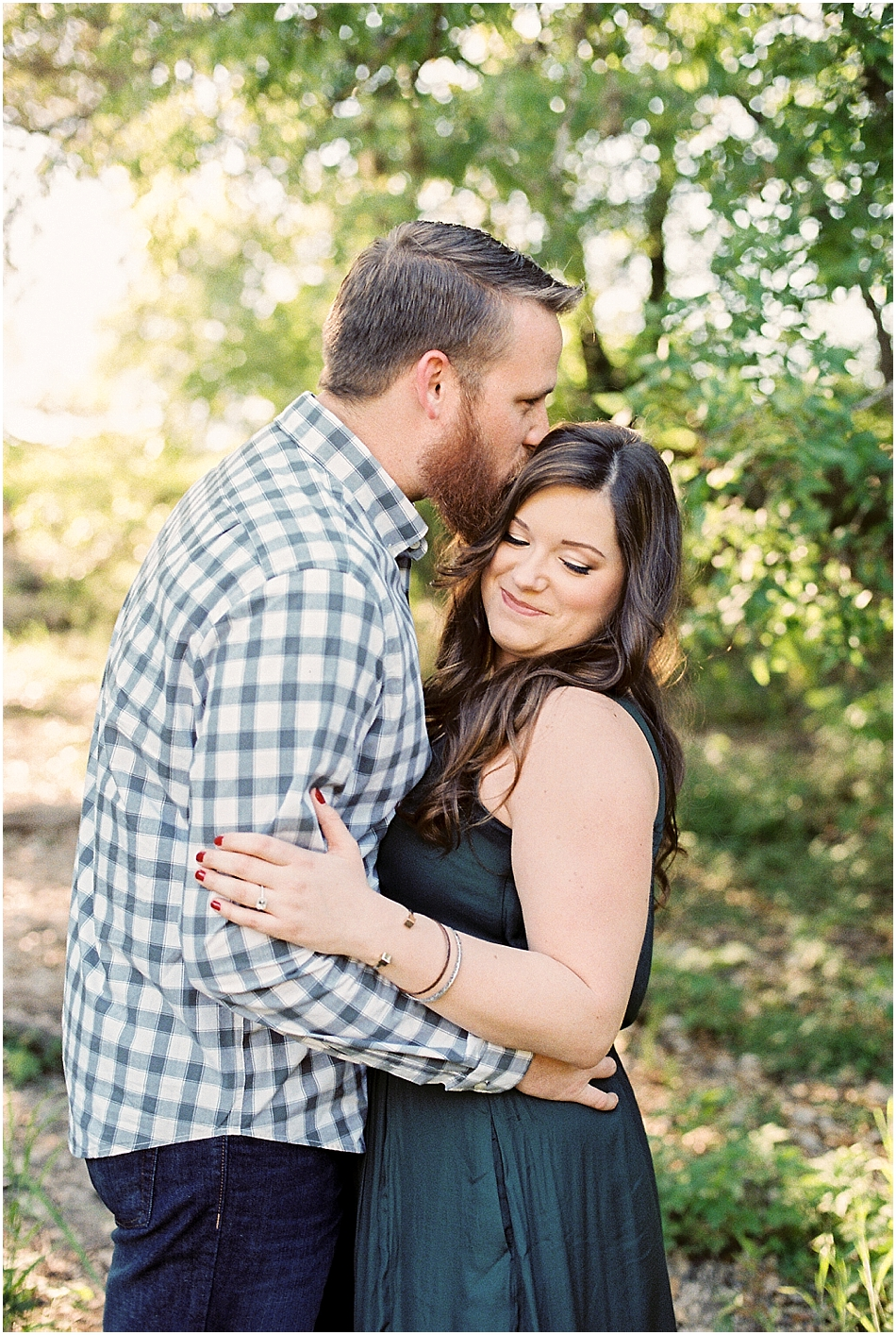Brooke + Nick | Fine Art Creek Side Engagement | Film | Emilie Anne Photography-12.jpg