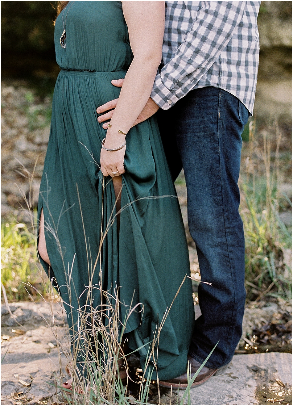 Brooke + Nick | Fine Art Creek Side Engagement | Film | Emilie Anne Photography-16.jpg