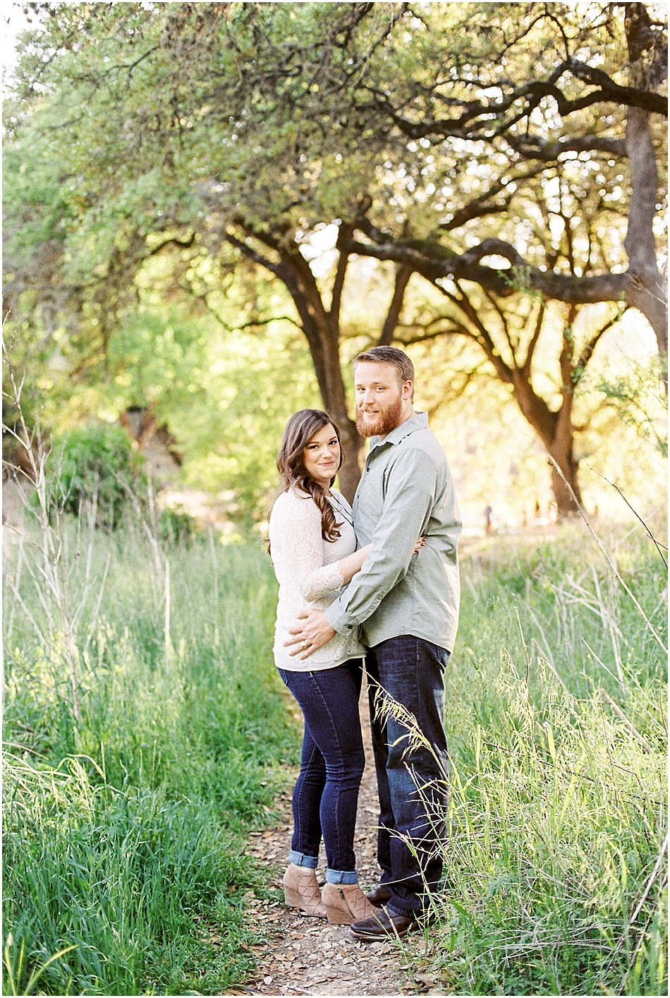 Brooke + Nick | Fine Art Creek Side Engagement | Film | Emilie Anne Photography-23.jpg