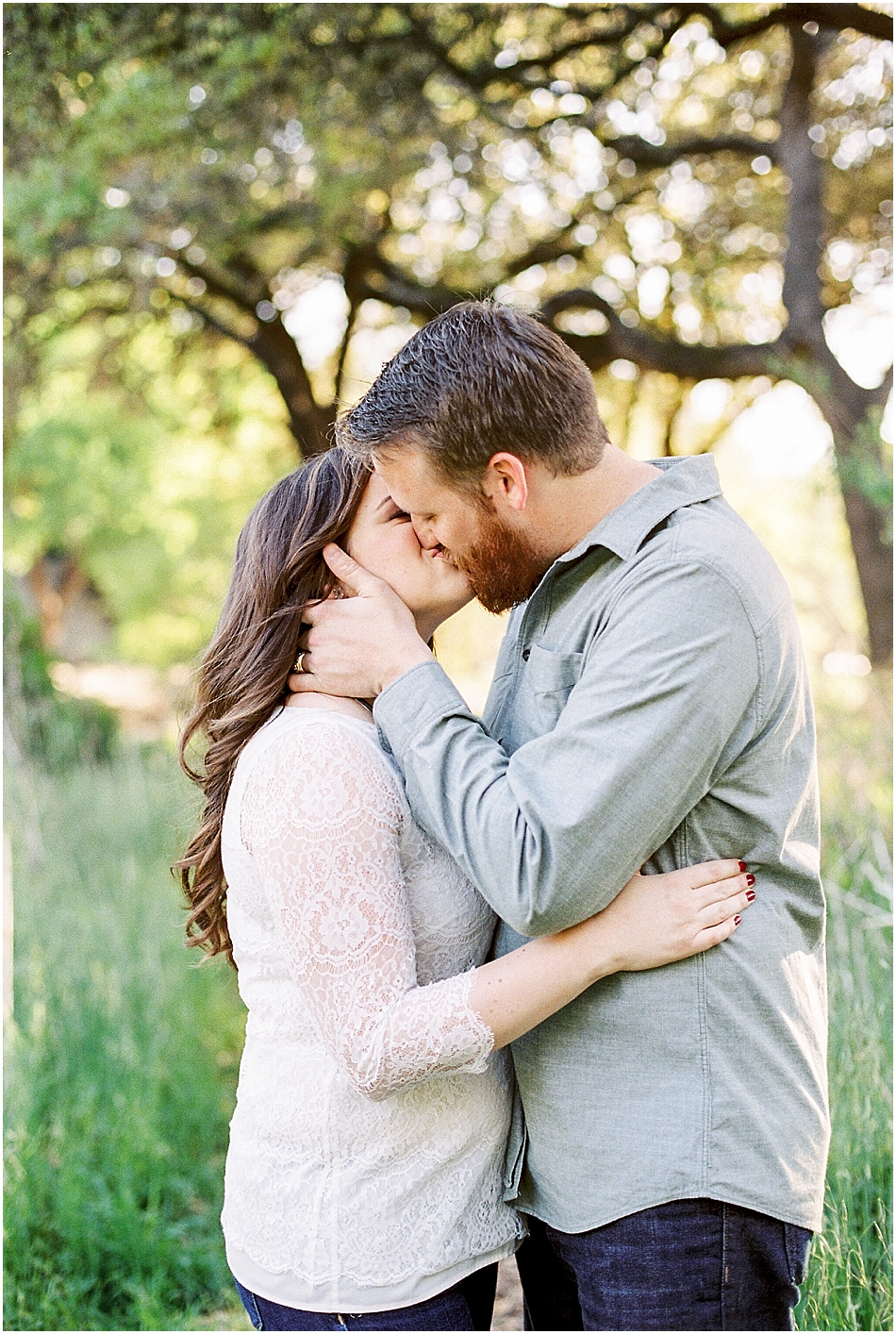 Brooke + Nick | Fine Art Creek Side Engagement | Film | Emilie Anne Photography-24.jpg