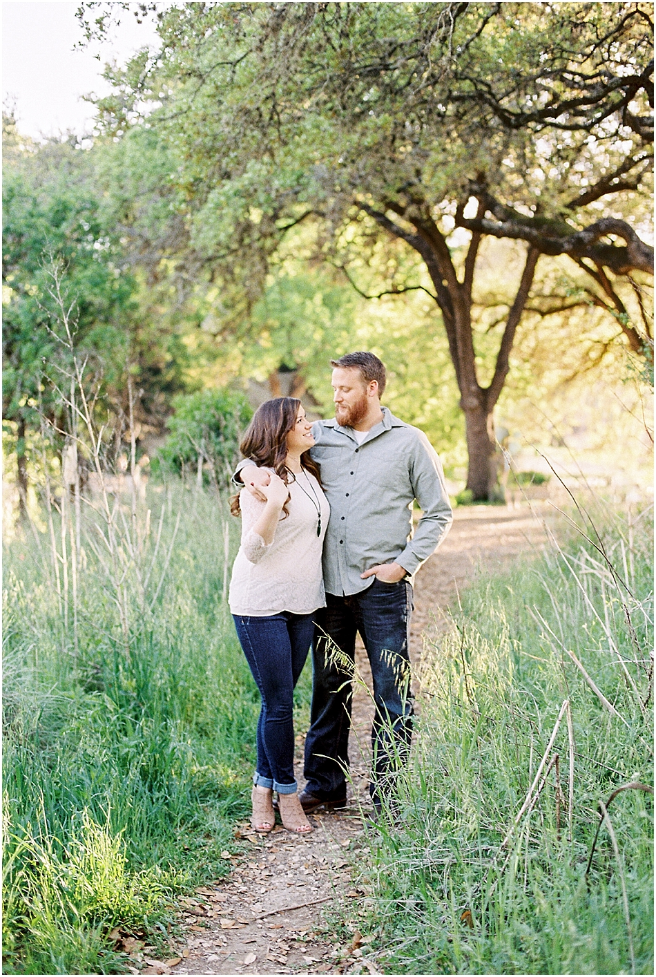 Brooke + Nick | Fine Art Creek Side Engagement | Film | Emilie Anne Photography-28.jpg