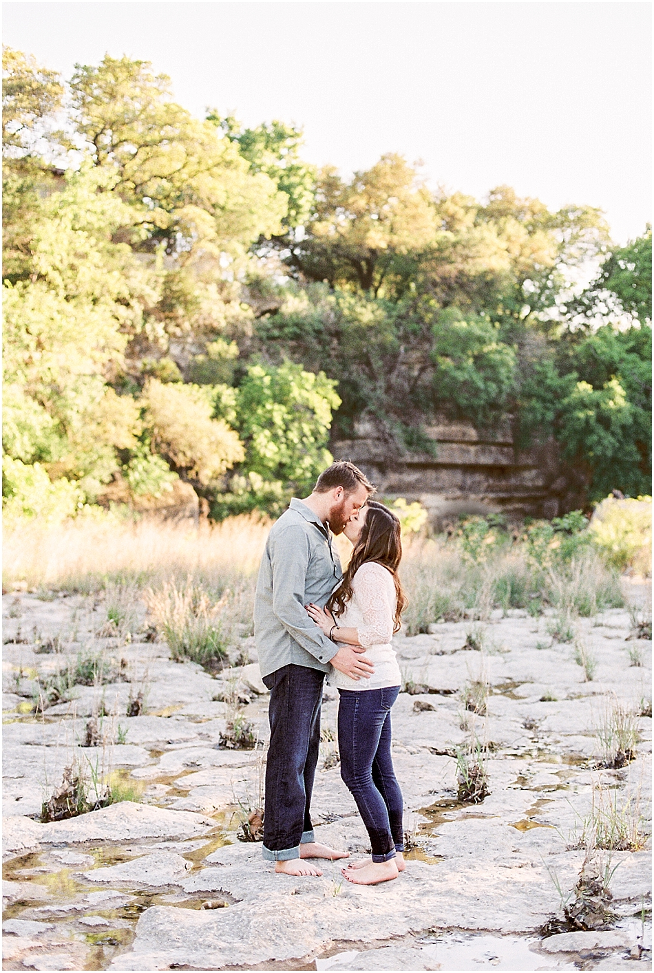 Brooke + Nick | Fine Art Creek Side Engagement | Film | Emilie Anne Photography.jpg