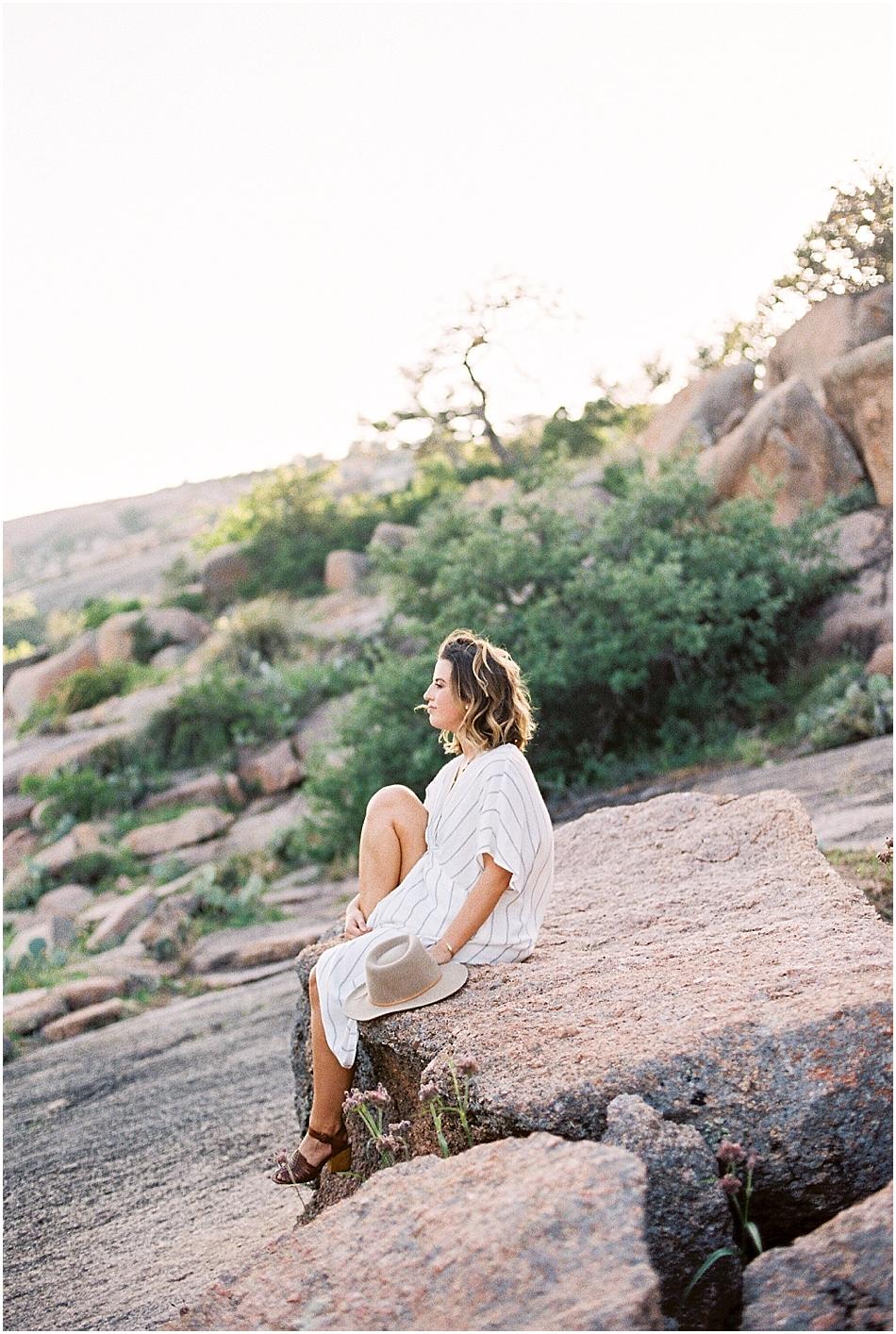 Emilie Anne Photography   Fine Art Film   Central Texas   Enchanted Rock   Seniors-11.jpg