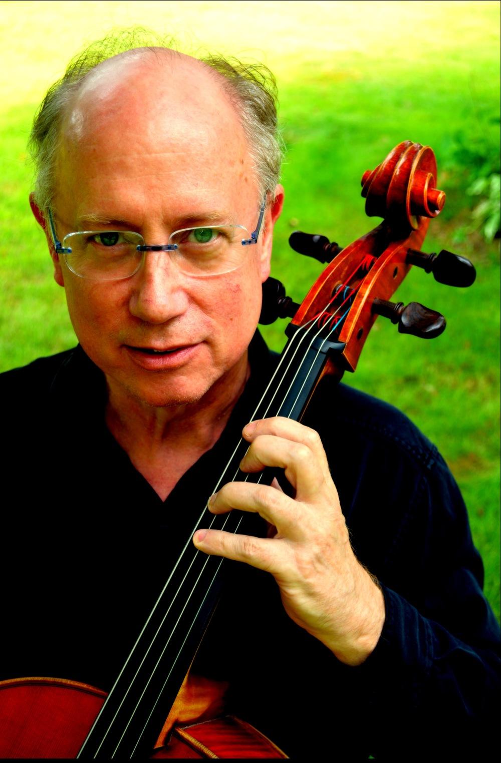 CHRIS FINCKEL, cello