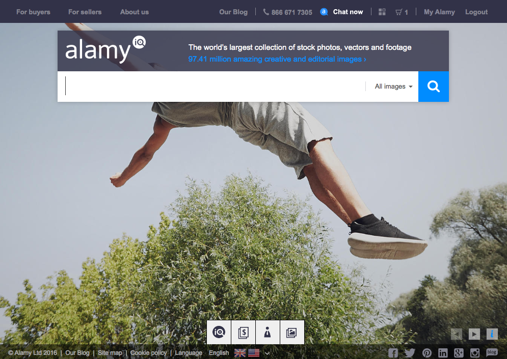"""Alamy has the largest online collection of images and video clips. As a new player on the block, Alamy didn´t have a multimillion dollar legacy of non-digital images that it had to deal with. So from the outset the company was lean and agile and able to make the most of the advantages offered to it from new and emerging technology. Indeed, Alamy has used technology to great effect to drive the market forward."