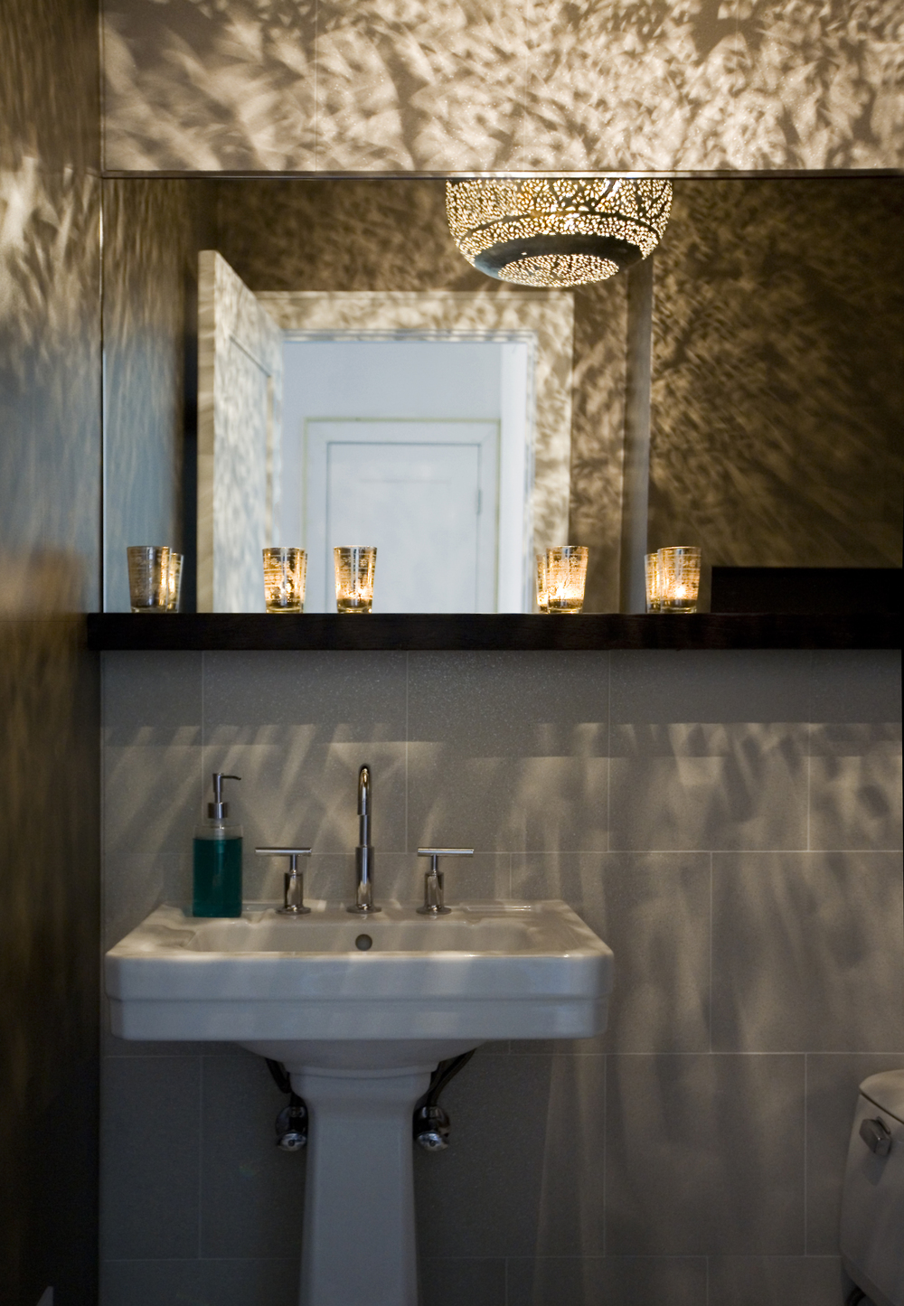 wildwood powder room | awh photography