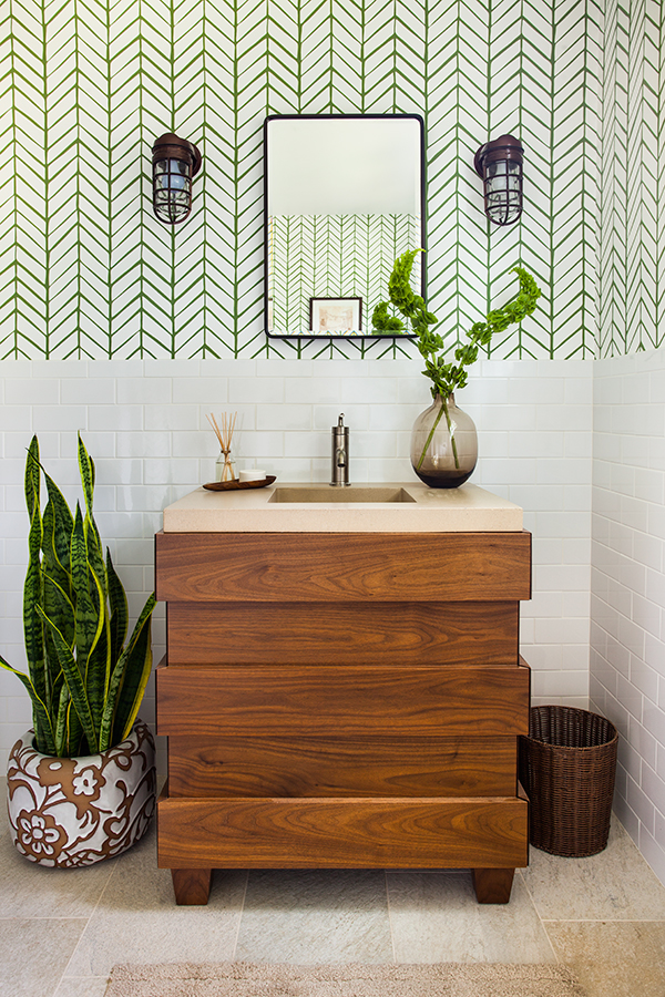 pasadena guest bath | jeff herr photography