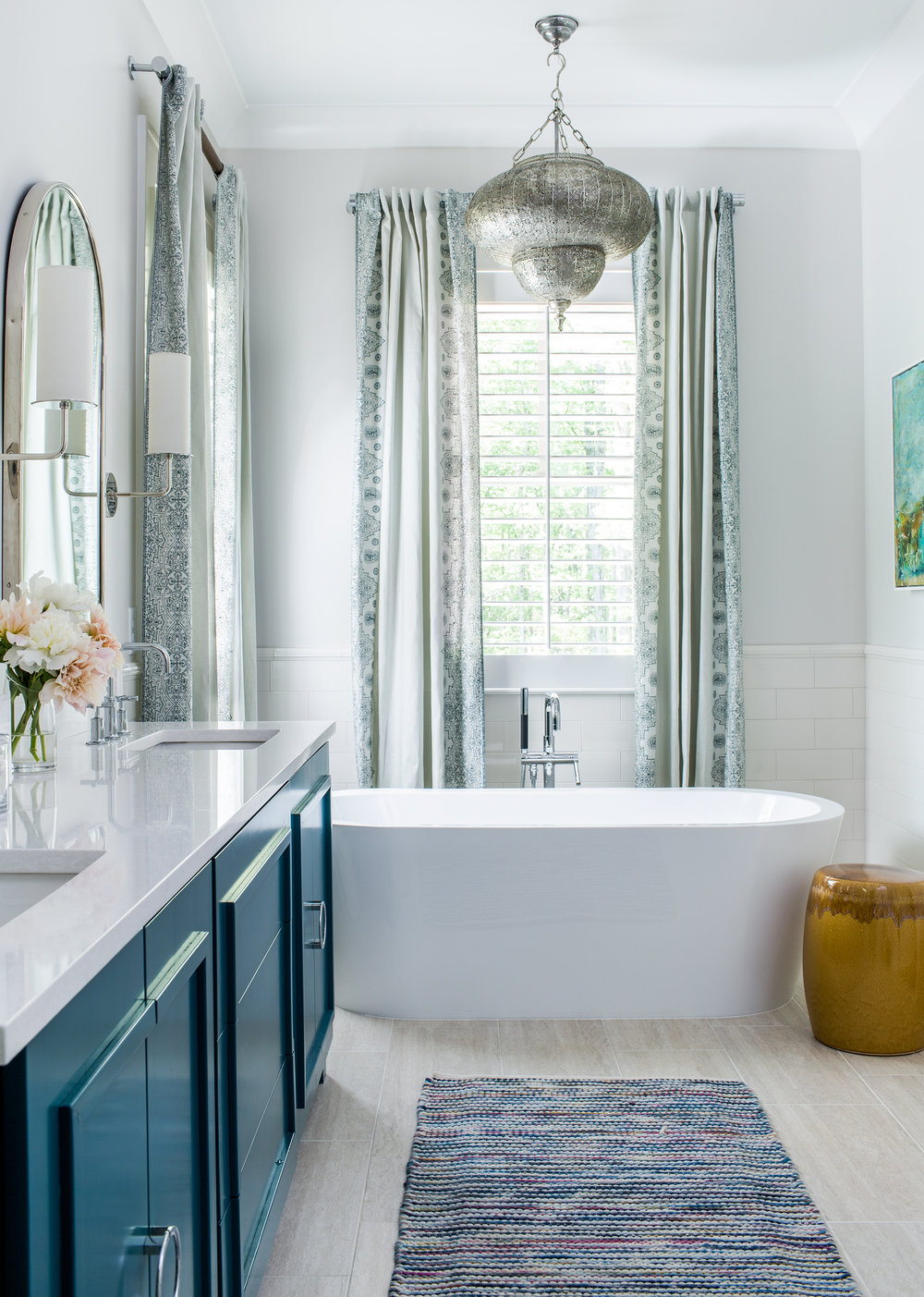 marietta master bath | new construction | jeff herr photography
