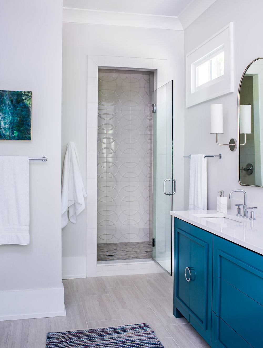 marietta master bathroom | new construction | jeff herr photography