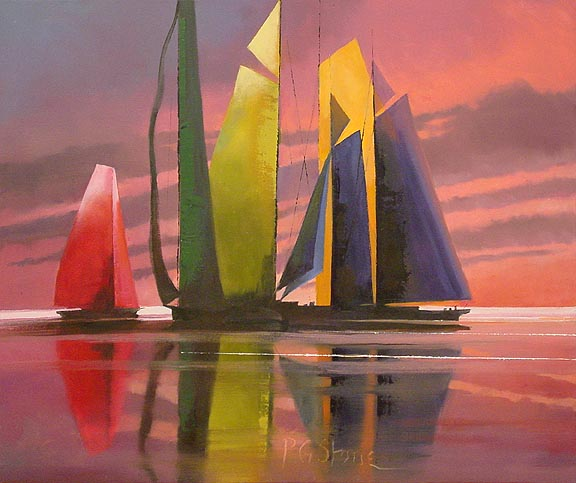 """Sunset Skimmers"""