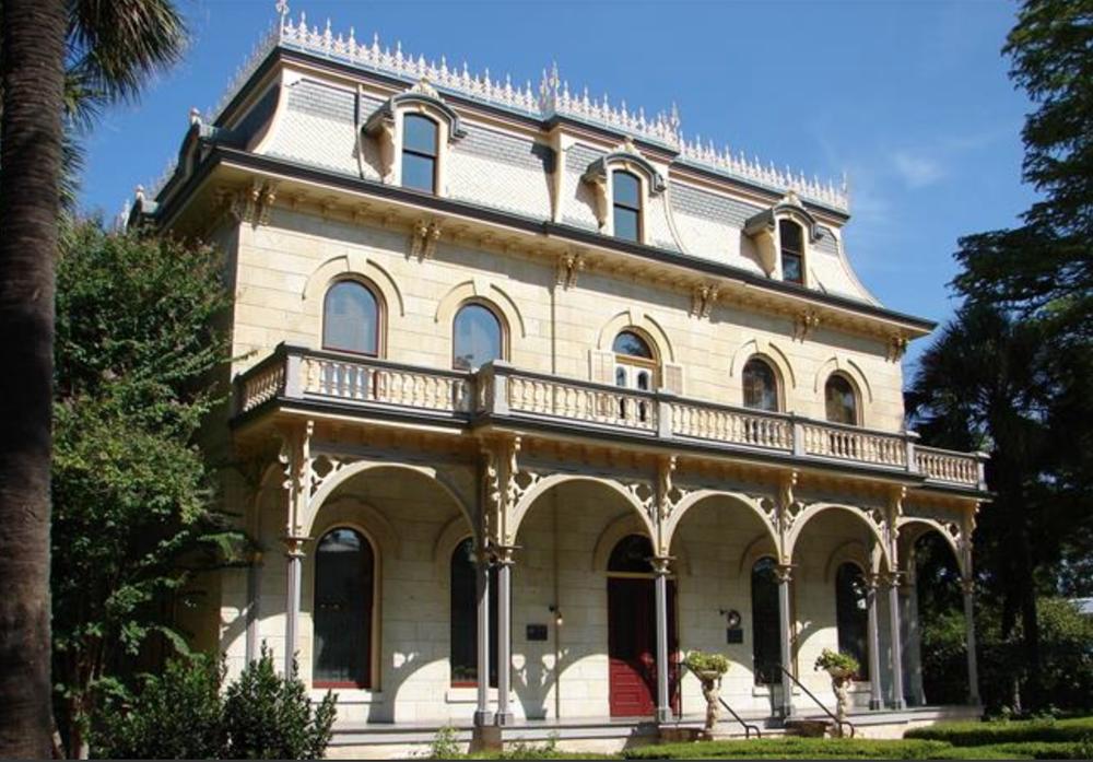 The Edward Steve's Homestead , a stunning Renaissance style home.